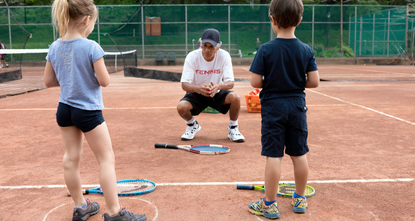 Spring 2020 Youth Group Tennis Lessons  (Ages: 3  to 4)